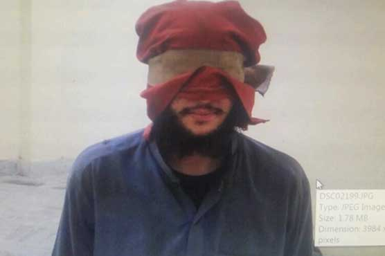 Alleged Afghan terrorist arrested in Peshawar, explosives recovered