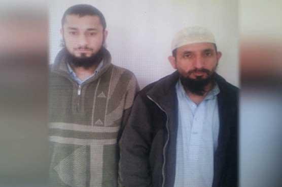 KP escapes major terror attack as two militants arrested