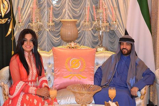 Meera meets Emirati entrepreneur