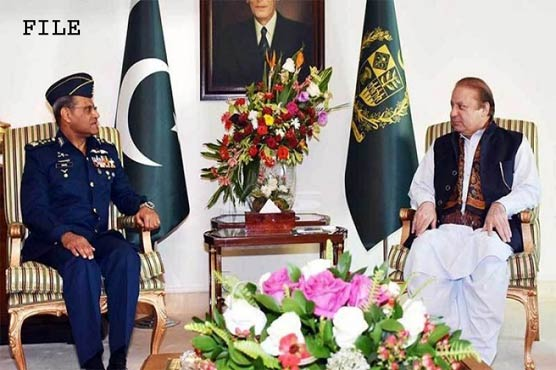 PM Nawaz lauds PAF's performance in meeting with Air Chief