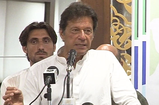 Competition between govt schools in KP a good step: Imran Khan
