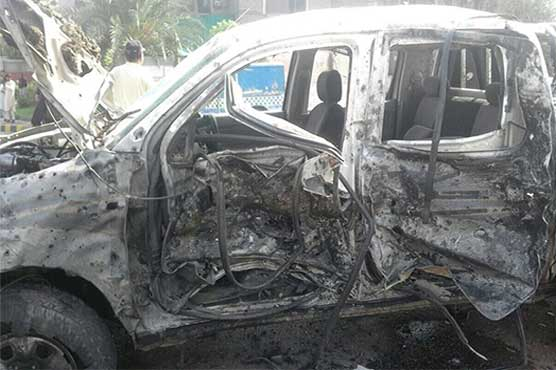 FC major among two martyred in suicide blast in Peshawar