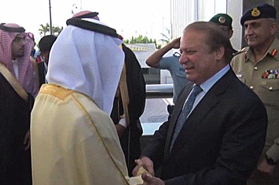 PM, COAS arrive in Riyadh to mediate Qatar-GCC rift