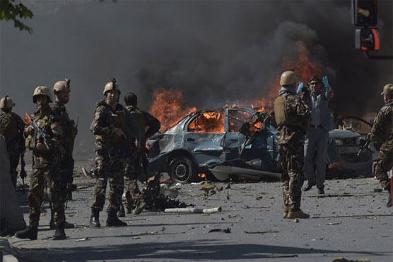 Multiple casualties as car bomb hits bank in south Afghanistan: officials