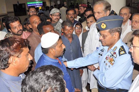 Air Chief extends support for Ahmedpur East tragedy injured