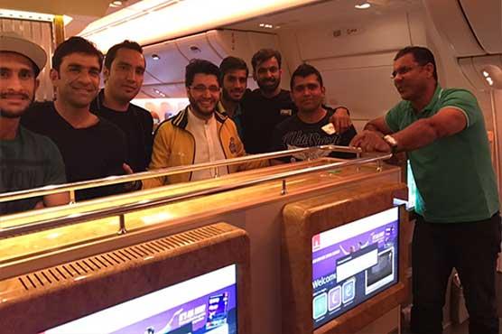 Peshawar Zalmi players reach Lahore for final