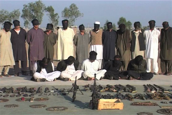 13 terrorists among 77 arrested in Peshawar, Khyber Agency