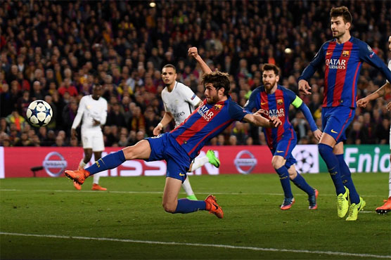 Football Barca Hit Psg For Six In Historic Late Fightback Sports Dunya News