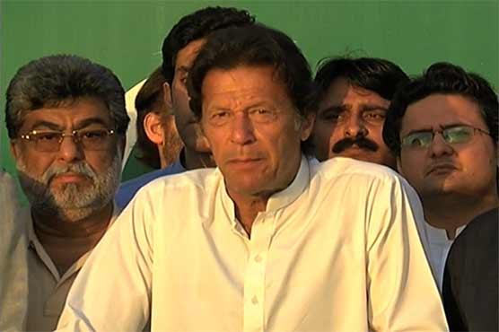 Dr Asim's bail, Ayyan's departure part of a PML-N-PPP deal: Imran Khan