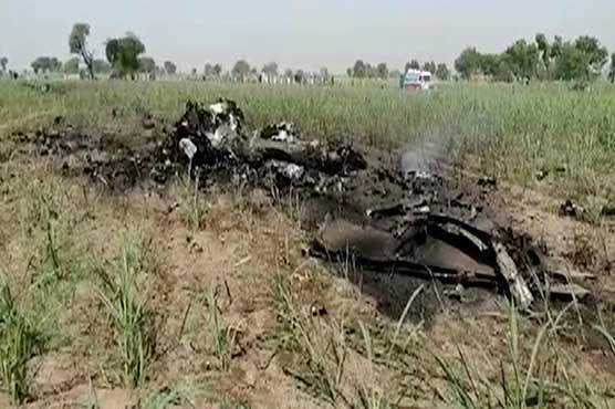 PAF Mirage jet crashes near Jhang
