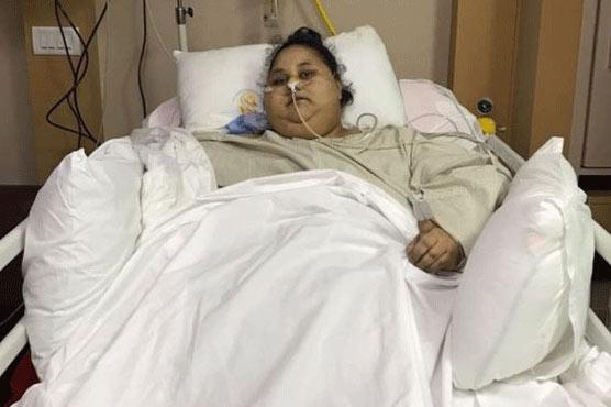 'World's heaviest woman' hospitalised in Abu Dhabi