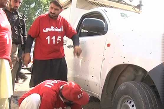 IED blast near CTD vehicle injures four in Peshawar