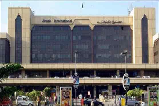 PIA female employee tries to slap ASF officer at Karachi airport