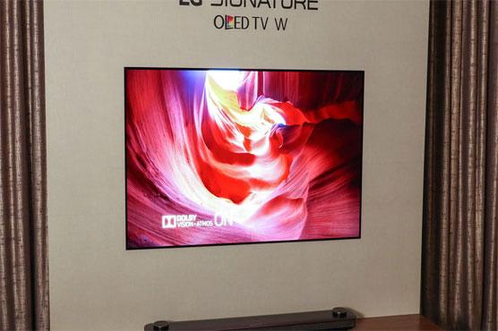LG introduces 'wallpaper' TV in Dubai