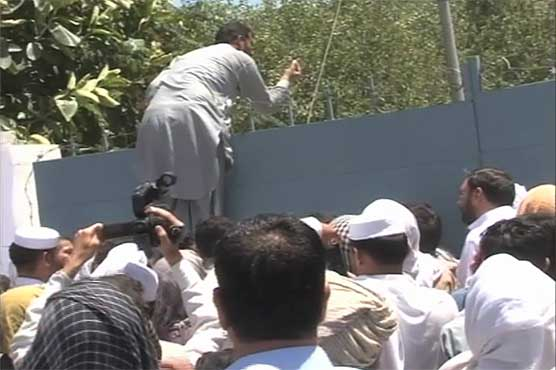 PTI workers end siege of Peshawar grid station