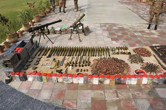 TTP facilitator arrested, huge cache of weapons recovered