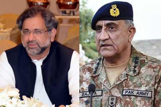 PM, Army Chief condemn terrorist attack on police in Quetta