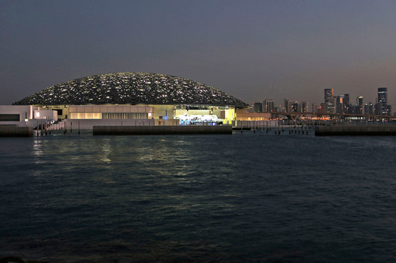 In pictures: The Louvre opens in Abu Dhabi