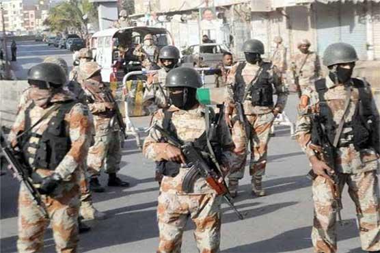 Three terrorists killed as Rangers thwart suicide attack at imambargah in Rohri