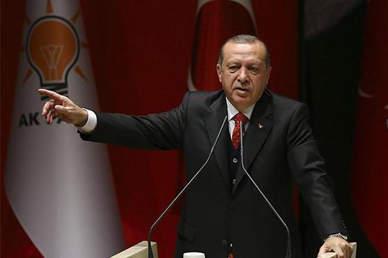 Erdogan takes aim at Turkey central bank