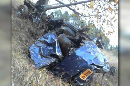 Abbottabad: Five of a family killed as car plunges into ravine