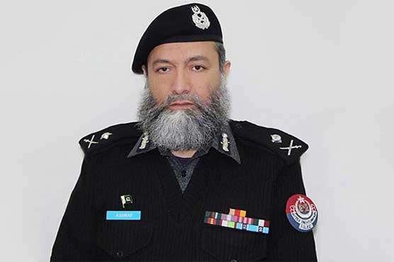 AIG Ashraf Nur, guard killed in Peshawar suicide blast