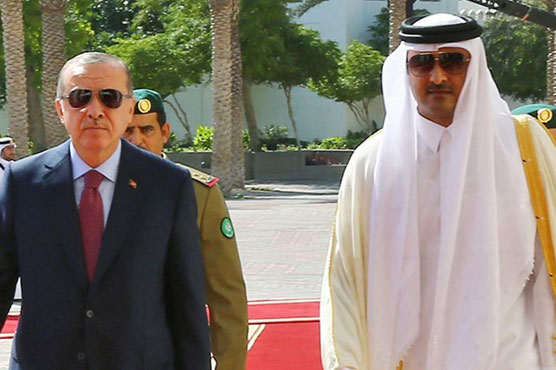 Iran, Turkey sign deal with Qatar to ease Gulf crisis