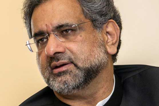 Terror groups are in Afgahnistan, not Pakistan: PM Abbasi