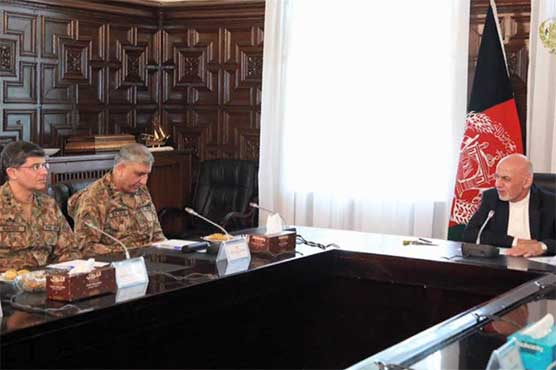 COAS meets Afghan President to discuss bilateral security concerns