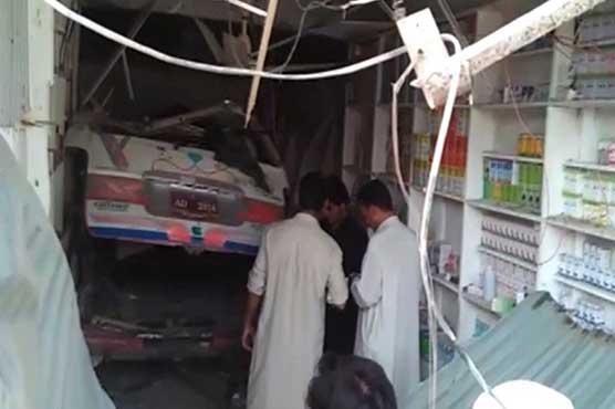 Buner: Three students killed as school van rams into shop