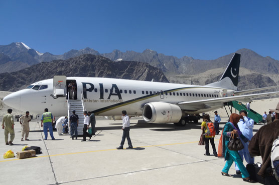 PIA to promote tourism by flights from big cities to Gilgit, Skardu