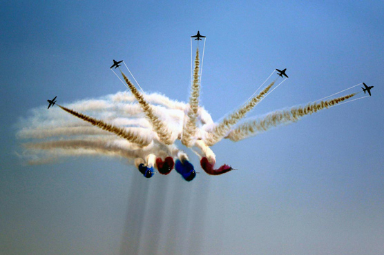 In pictures: Air show marks 70 years of Pak-UK friendship