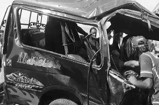 Quetta: 14 dead in horrible bus-van collision