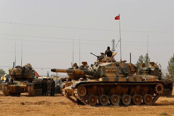 Turkish forces launch incursion into Syria: monitor
