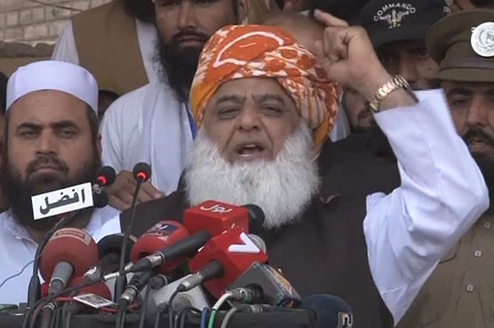 Fazl says fighting for FATA alone, demands consultation with tribes
