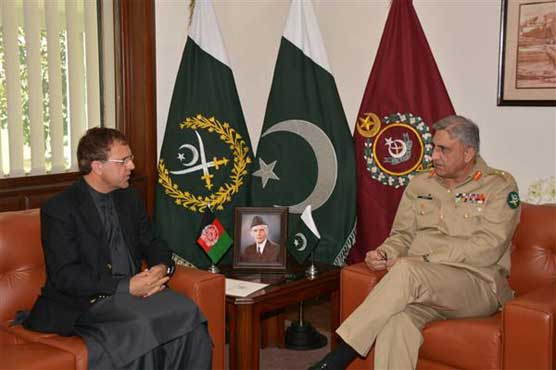 COAS discusses regional security situation with the Afghan ambassador