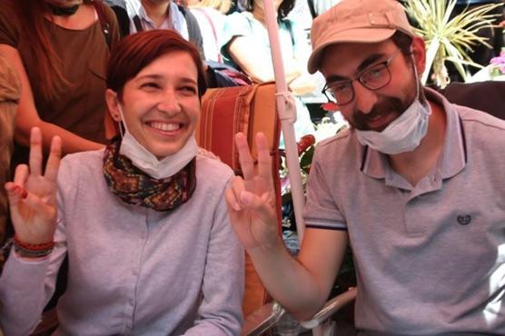 Turkish hunger striker released for remainder of trial