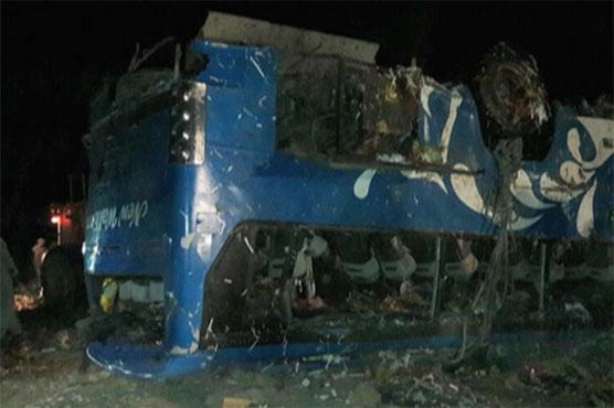 Dalbandin: 16 killed in coach, trailer collision