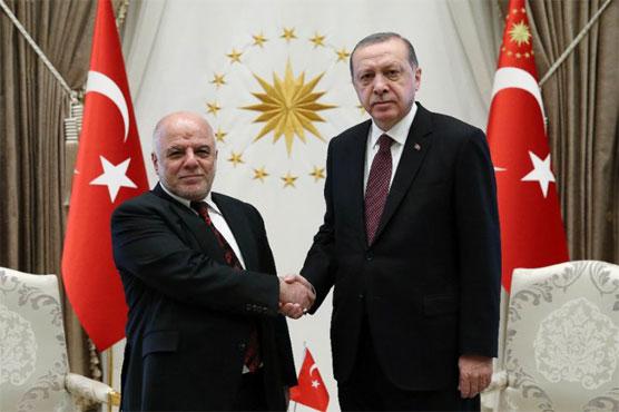 Iraqi PM Abadi meets Erdogan for talks on Kurd vote