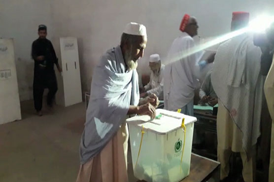 Polling for Peshawar's NA-4 by-election underway