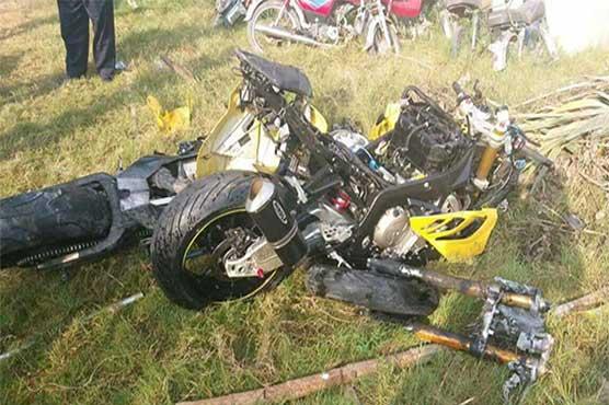 Islamabad: Two killed as heavy bike hits traffic barrier