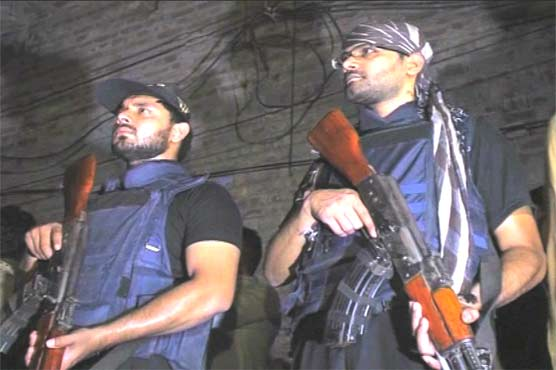 Four terrorists nabbed in CTD operations in Lahore, Guranwala