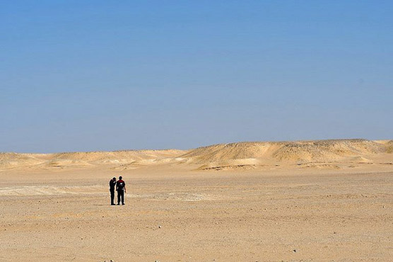 Desert of Oman, a gateway to life on Mars