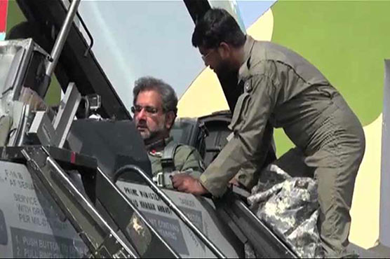 PM takes part in air exercise, hails PAF's operational preparedness