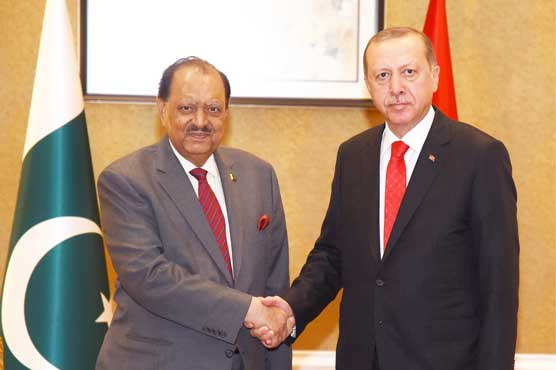 Mamnoon, Erdogan call for recognition of Pakistan's anti-terror efforts