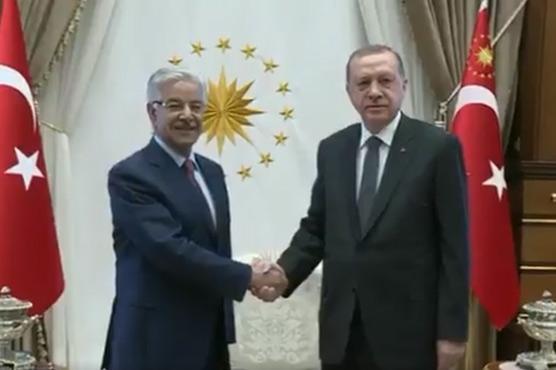 Turkey backs Pakistan's stance regarding Afghan security