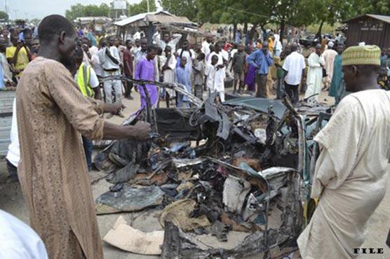 Suicide bombers kill 15 in northeast Nigeria