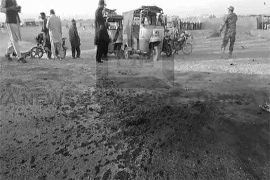Suicide blast near Chaman border claims life, leaves 10 wounded