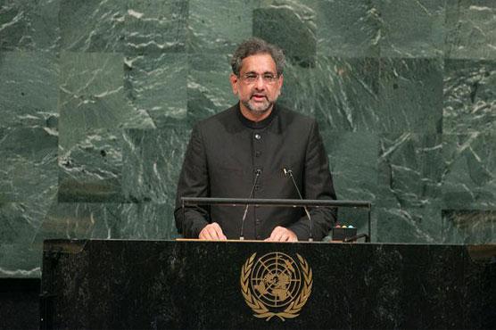Full text of PM Shahid Khaqan Abbasi speech at UNGA