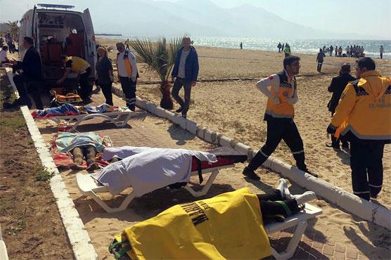 Four dead, 20 missing as migrant boat sinks off Turkey's Black Sea coast: reports